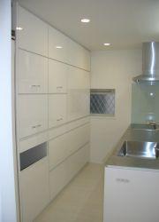 家電収納。家電を隠したいお客様の食器棚